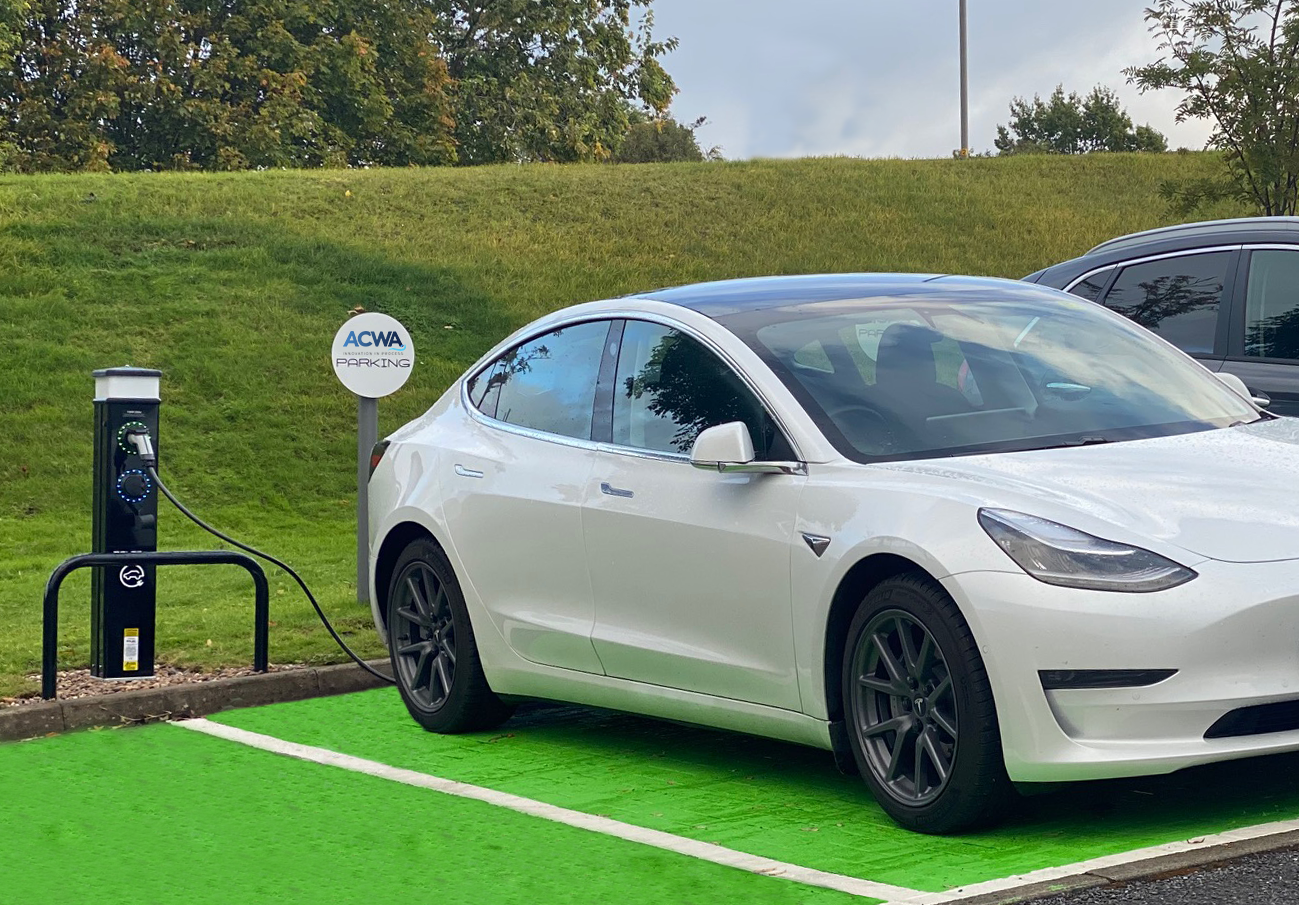 Electric Vehicle Parking Bays